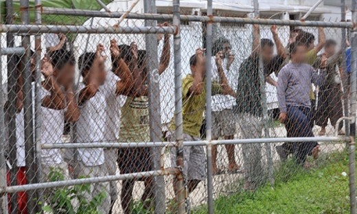 Manus Island Detention Centre (image from theguardian.com)
