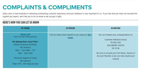 Customer Service is dead, at least at Optus - » The Australian