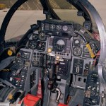 Cockpit of an F-14 used by NASA for flight tests (NASA photo)