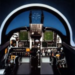 Northrop F-20 cockpit mock-up. (U.S. Air Force photo)