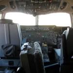 Tanker 910 cockpit.