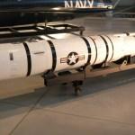 ASM-135 ASAT missile (Media credit/Lorax via Wikimedia)