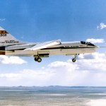 NASA's Dryden Flight Research Center conducted fly-by-wire tests on the F-8 in the 1970s. It helped get but computer bugs out of the IBM AP-101 system later used in the Space Shuttle