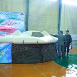Photo of the RQ-170 on display in Iran