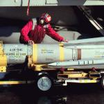 An AIM-54 being moved
