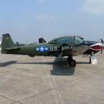 A post-war Navion light airplane (Air Cache photo/John M. Guilfoil)