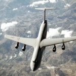 With its tremendous payload capability, the large C-5 Galaxy, an outsized-cargo transport, provides the Air Mobility Command intertheater airlift in support of United States national defense. The C-5 is one of the largest aircraft in the world.