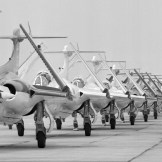 Blackburn Buccaneers Fleet Air Arm Jubilee Review Yeovilton 1964