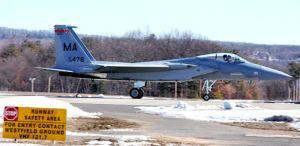 A Massachusetts Air National Guard F-15 (File photo/Wikimedia)