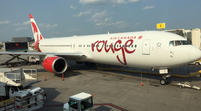 Review: Air Canada Rouge Economy 767-300ER Montreal to Rome