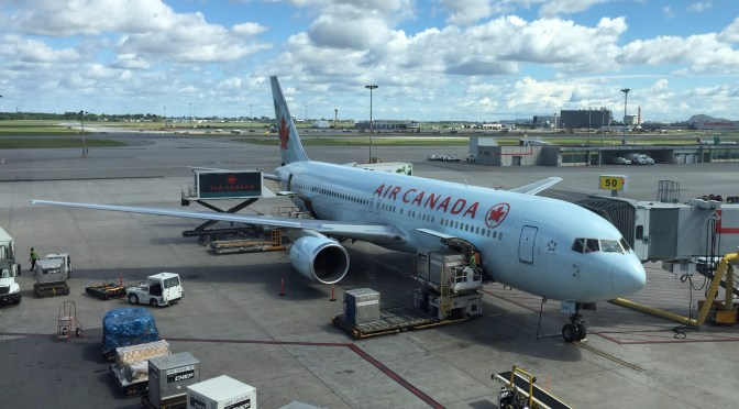 Review: Air Canada Economy 767-300 Paris CDG to Montreal