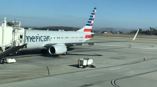 Review: American Airlines 737-800 First Class Dallas to Ontario