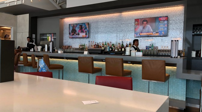 Review: American Airlines Admiral's Club LAX