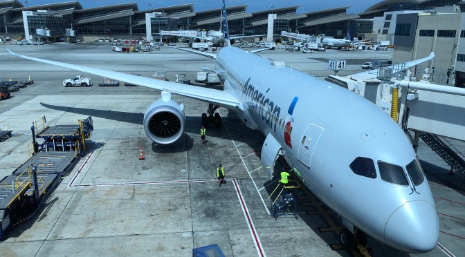 Review: American Airlines 787-9 Main Cabin Extra Los Angeles to Tokyo Narita