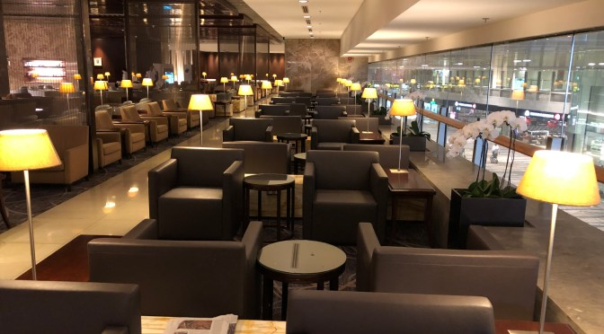 Review: Singapore Airlines SilverKris Business Class Lounge Terminal 3 Singapore