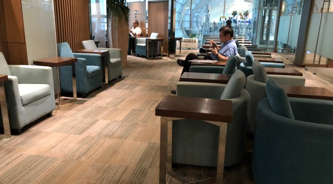 Review: Thai Airways Royal Silk Lounge Concourse E Bangkok