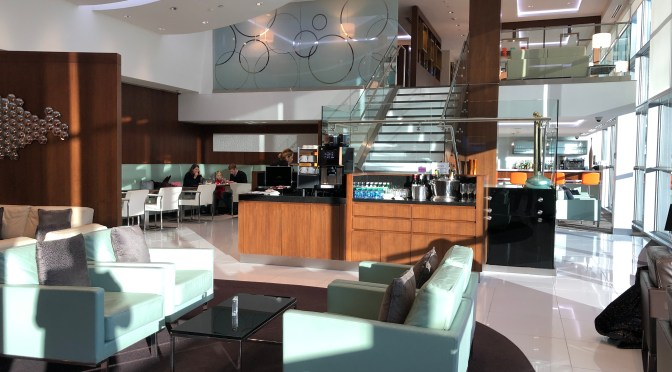 Review: Etihad Airways First and Business Class Lounge Washington Dulles