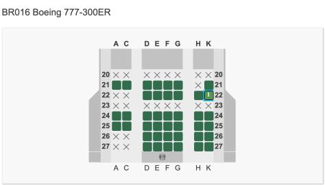 EVA TPELAX seat