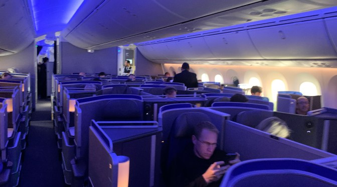 Review: United Airlines 787-10 Business Class Newark to San Francisco