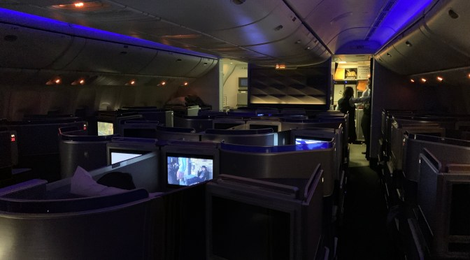 Review: United Airlines 777-300ER Polaris Business Class Newark to Mumbai