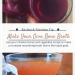 A.K. Kitchen Homemade Bone Broth Recipe