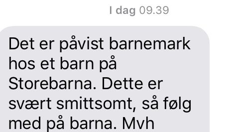 SMS type fresh