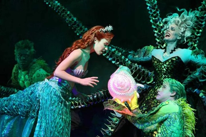 Angelina Avallone Sherie Sierra & Derrick Tyler in The Little Mermaid2