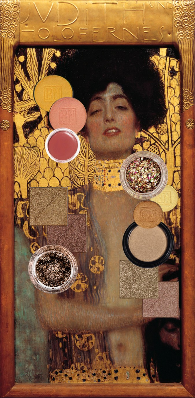 Gold Makeup Klimt