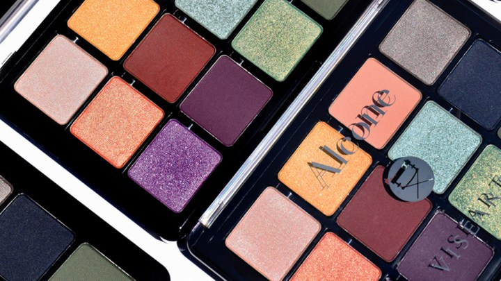 Alcone x Viseart: The Downtown Eyeshadow Palette