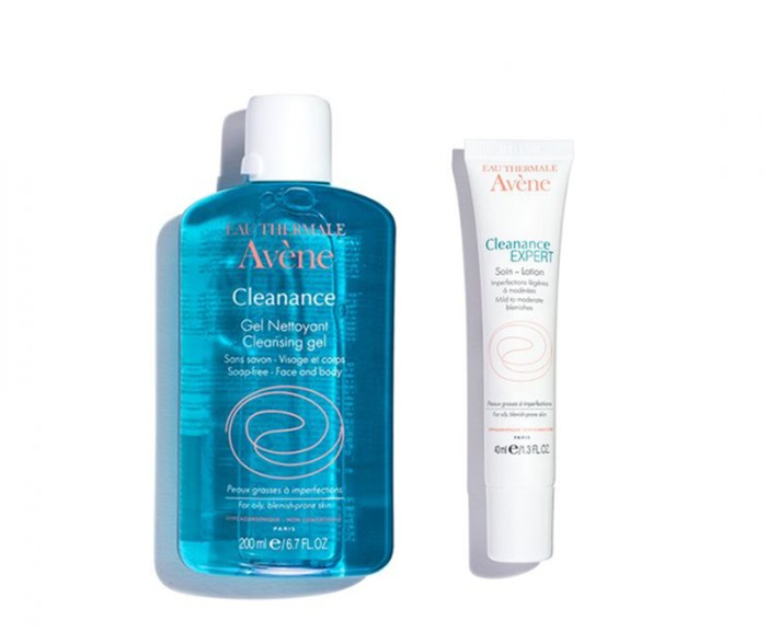 Avène Cleanance Cleansing Gel $20, Cleanance EXPERT $26