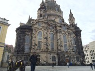 Standing in front of the Frauenkirche