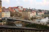 Looking across the river to the Polish side of Görlitz