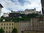 Hohensalzburg Castle towers over the city