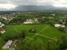 The view from Hohensalzburg Castle