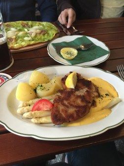 Only the 2nd schnitzel of many during the last few weeks