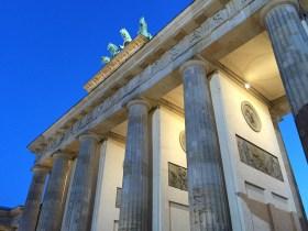 The iconic Branderburg Tor in Berlin