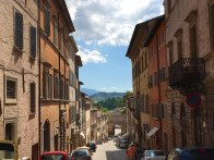 Urbino, a walled town in the Marche region of Italy