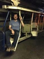 A modern mining transportation cart