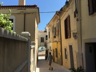 Alleys in Termoli's old town