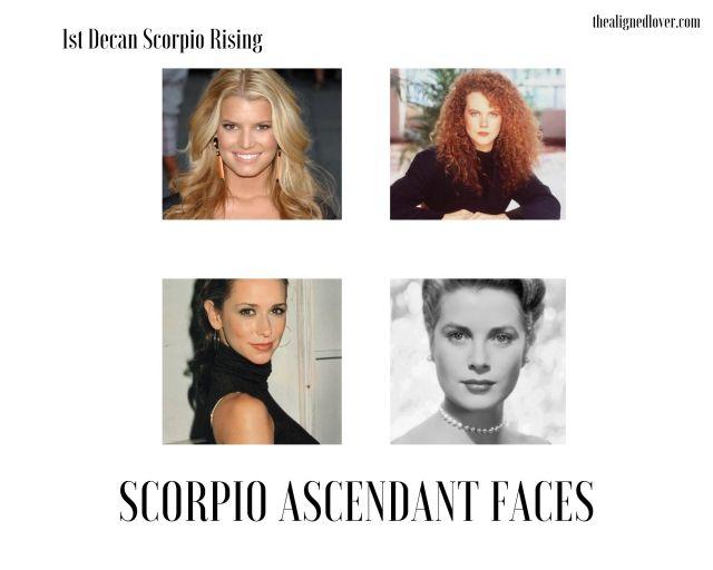 Appearance scorpio woman venus in Venus in