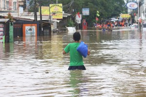 First Day In 2020: Massive Flooding In Jakarta, Indonesia