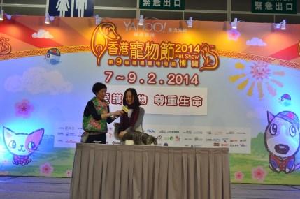 Invited Speech of Siberian On Stage