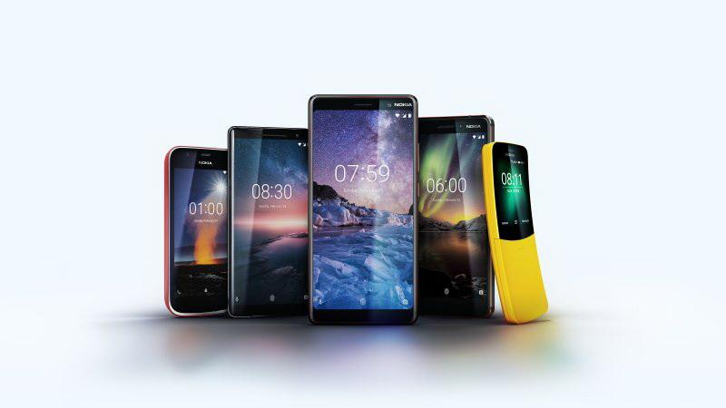 Nokia เปิดตัว 5 รุ่นรวด Nokia 8 Sirocco, Nokia 7 Plus, New Nokia 6, Nokia 1 และ Nokia 8110 4G
