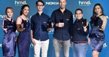HMD Global ประกาศเปิดตัวสมาร์ทโฟนแอนดรอยด์ 5 รุ่นใหม่ล่าสุด นำทัพด้วย Nokia 9 PureView สมาร์ทโฟนที่มาพร้อมกล้องหลัง 5 ตัว รุ่นแรกของโลก