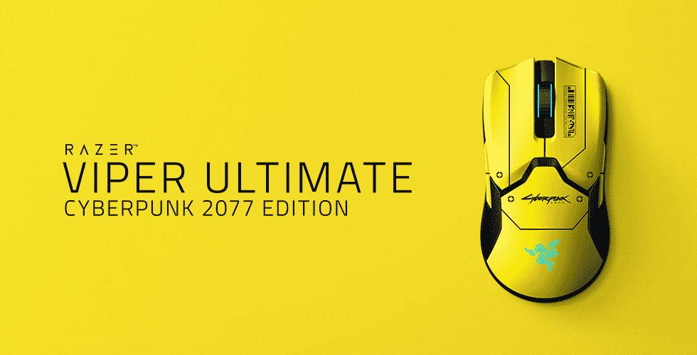 Razer เปิดตัวเมาส์ Razer Viper Ultimate Cyberpunk 2077 Edition มอบประสบการณ์ Night City แก่เหล่าเกมเมอร์อย่างเต็มรูปแบบ