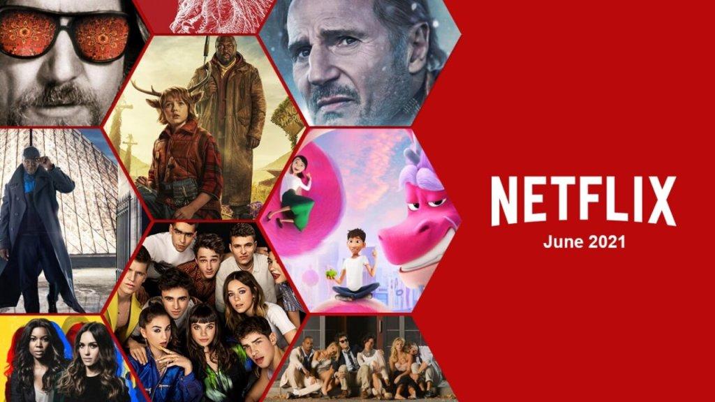 ภาพยนตร์และซีรีส์มาใหม่บน Netflix ประจำเดือนมิถุนายน 2564