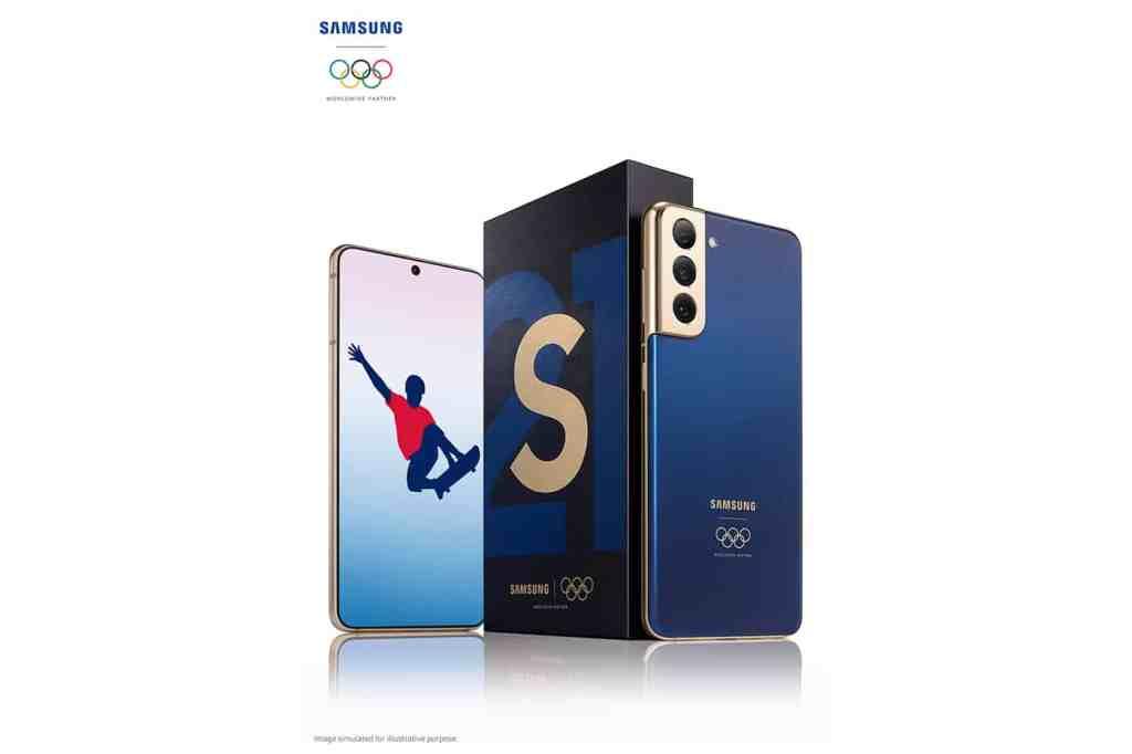 """Samsung เปิดตัว Galaxy S21 5G """"Tokyo 2020"""" รุ่นพิเศษ มอบให้กับนักกีฬาที่เข้าร่วมการแข่งขันโอลิมปิกและพาราลิมปิก ณ กรุงโตเกียว"""