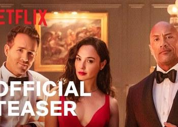 Nerflix Red Notice Trailer ตัวอย่าง