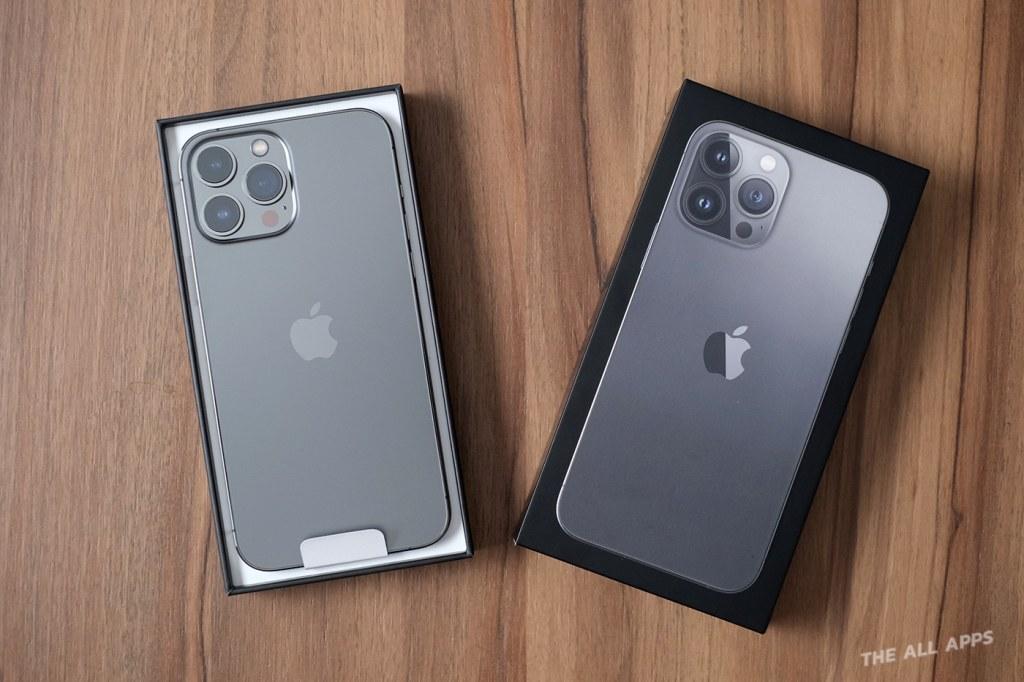 แกะกล่อง พรีวิว iPhone 13 Pro Max สีเทา Graphite เครื่องศูนย์ไทย