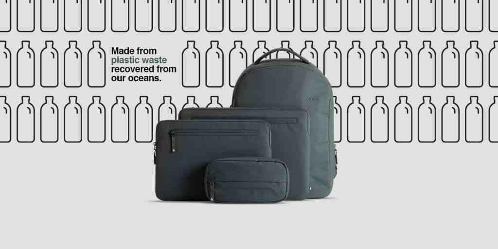INCASE x BIONIC ปล่อยคอลเลคชั่นกระเป๋ารีไซเคิลจากพลาสติกในมหาสมุทรเพื่อสิ่งแวดล้อมและโลกที่ยั่งยืน